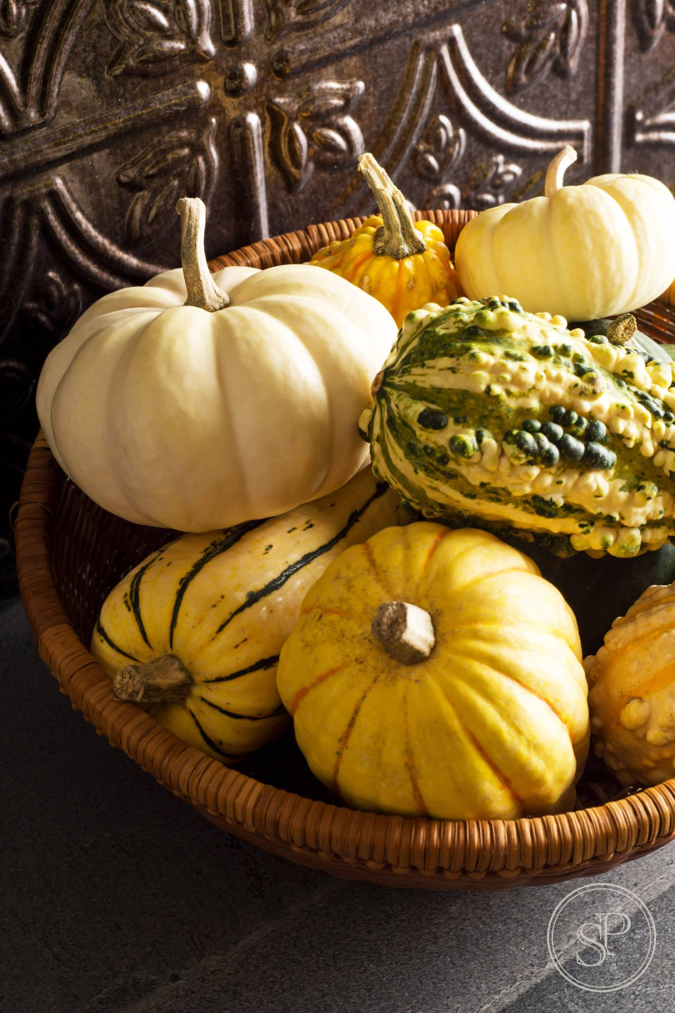 local pumpkin gourds